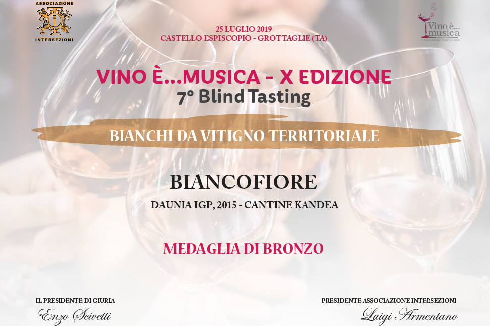 AWARD FIANO BIANCOFIORE 2015